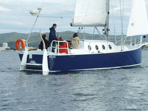 ocean cruising sailing yacht