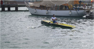 recreational rowing boat