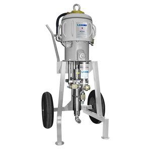 mobile paint spraying machine