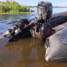 boat launching wheel