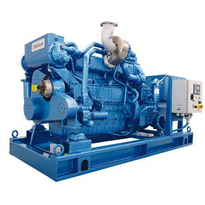 ship generator set / gas / turbine