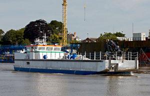 work barge special vessel / coastal