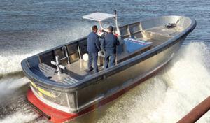 line-handling boat professional boat / inboard / aluminum