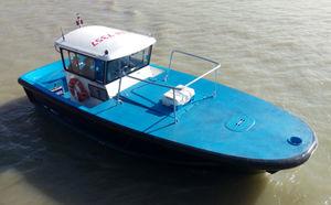 pilot boat / line-handling boat / inboard / aluminum