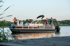 outboard pontoon boat