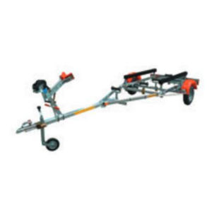 road trailer / launching / for boats / roller