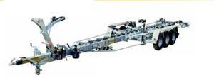 handling trailer / shipyard / hydraulic / roller