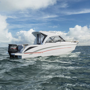 outboard cabin cruiser / wheelhouse / 8-person max. / twin-berth