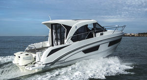 outboard cabin cruiser / twin-engine / wheelhouse / 10-person max.