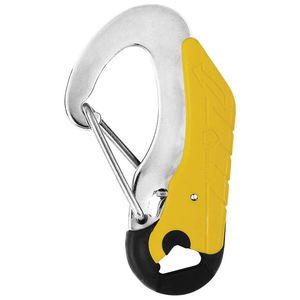 double-action safety snap shackle