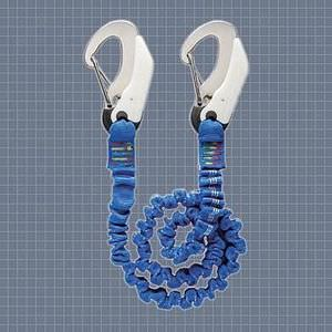 safety harness tether / boat / elastic