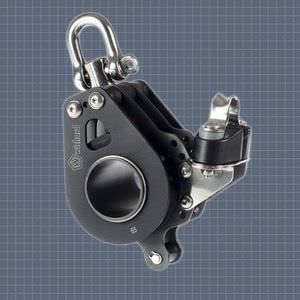 cam cleat block / triple / with swivel / with becket