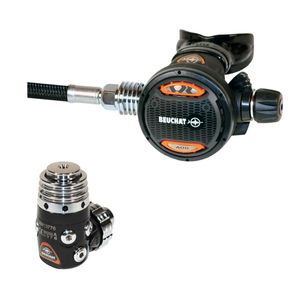 first and second stage scuba regulator / DIN / yoke / for cold water