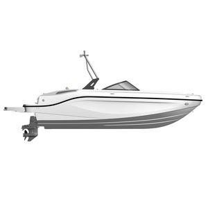 outboard deck boat / wakeboard / ski / sport-fishing