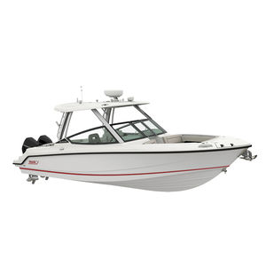 outboard runabout / twin-engine / dual-console / bowrider
