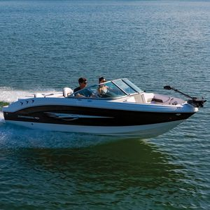 inboard runabout / dual-console / bowrider / open