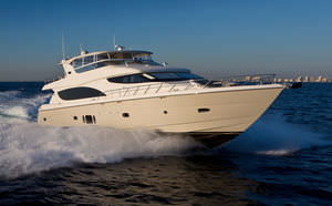 high-speed motor yacht