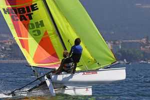 regatta sport catamaran / instructional / multiple / asymmetric spinnaker