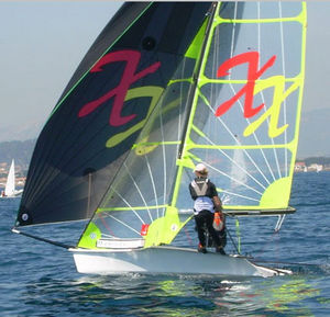 double-handed sailing dinghy