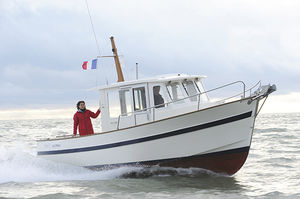 outboard day fishing boat / inboard / wheelhouse / 8-person max.