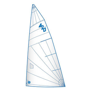 mainsail / for one-design sailboats / 420