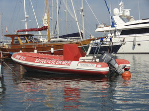 work boat professional boat / utility boat / rescue boat / dive support boat