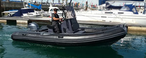 outboard inflatable boat / RIB / center console / open