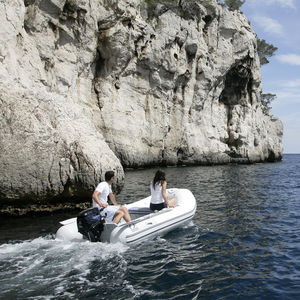 outboard inflatable boat / foldable / open / yacht tender