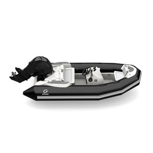 outboard inflatable boat / RIB / open / side console