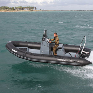 outboard inflatable boat / rigid / center console / spearfishing
