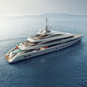 cruising mega-yacht / raised pilothouse / steel / 7-cabin
