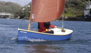 traditional sailing dinghy