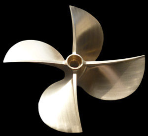 Surface-drive propeller - All boating and marine industry
