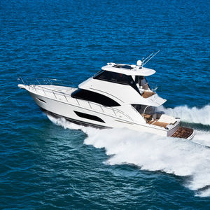 cruising motor yacht / offshore / sport-fishing / with enclosed flybridge