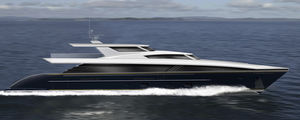 cruising super-yacht / with enclosed flybridge / raised pilothouse / 4-cabin