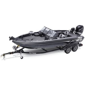 outboard bass boat / high-performance / sport-fishing / 6-person max.