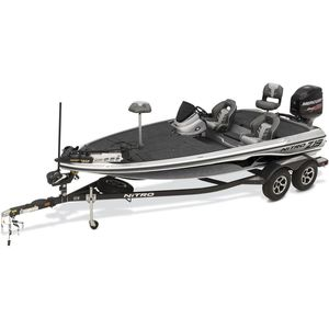 outboard bass boat / high-performance / sport-fishing / 4-person max.