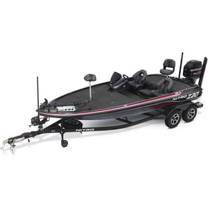outboard bass boat / side console / high-performance / sport-fishing