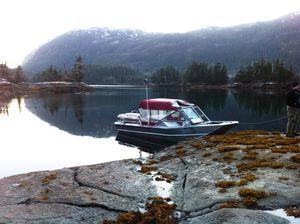 hydro-jet cruising fishing boat