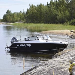 outboard runabout / bowrider / fishing / aluminum