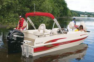 outboard deck boat / sport-fishing / aluminum