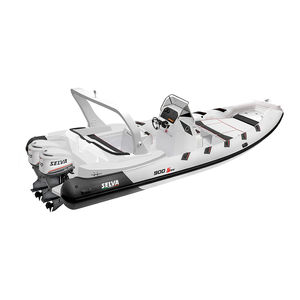 Roll-bar inflatable boat - All boating and marine industry