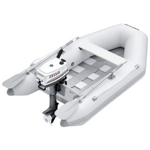 outboard inflatable boat / foldable / yacht tender / 2-person