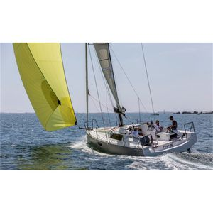 fast cruising sailboat / open transom / fiberglass / with 2 or 3 cabins