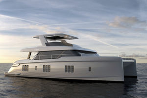 power catamaran motor yacht