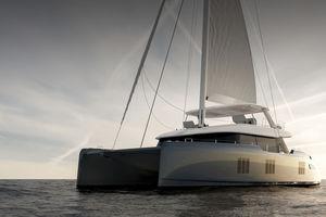 catamaran / cruising / flybridge / 6-cabin