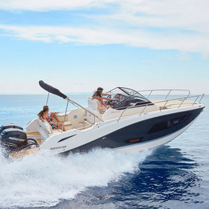 outboard walkaround / 12-person max. / 4-berth / sundeck