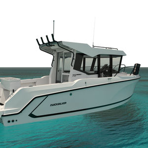 diesel cruising fishing boat