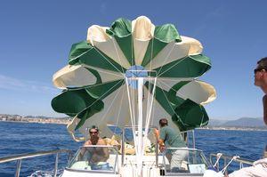 parasailing mast