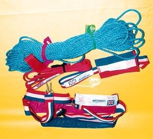 towing rope / twisted / parasail / Dyneema® core